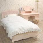 プリマベーラ セミダブルベッド ローズ パステルピンク色のサムネイル