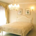 フレンチスタイルベッド クィーンサイズ ホワイト色のサムネイル