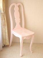 プリマベーラ 薔薇の彫刻 クィーンアンチェア パステルピンク