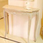 ラ・シェル コンソール W900 ピンクベージュ色のサムネイル