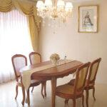 ラ・シェル ダイニングテーブル 160 マイエル色(蜂蜜色)のサムネイル