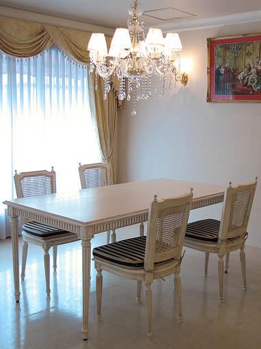 マダム・ココ ダイニングテーブル 160