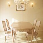ラ・シェル ダイニングテーブル200 ビバリーヒルズの彫刻のサムネイル