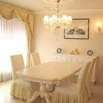 ベルサイユ ダイニングテーブル W2100×D1100×H720 マダム・ココ色のサムネイル