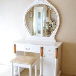 アフロディーテ ドレッサー オードリーリボンの彫刻 スーパーホワイトグロス色のサムネイル