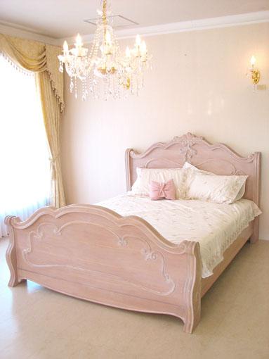 ラ・シェル ベッド セミダブルサイズ