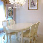 ラ・シェル ダイニングテーブル 160 ホワイトのサムネイル