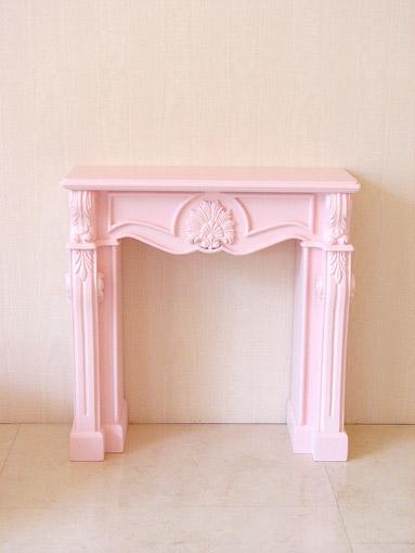 マントルピース シェル ミニチュアサイズ バービーピンク色