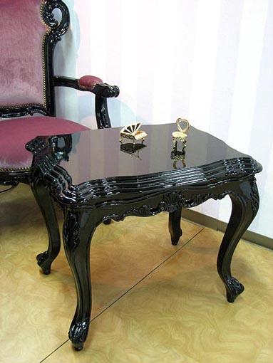 魔女サマンサ ロココ調 サイドテーブル