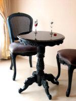 魔女サマンサ ロココ調 ティーテーブル