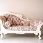 カウチソファ W170cm 薔薇柄のサムネイル
