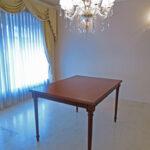 ダイニングテーブル マダムココ W120cm マイエル色のサムネイル