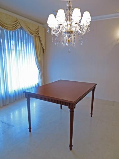 ダイニングテーブル マダムココ W120cm マイエル色