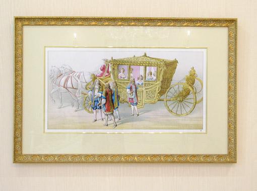 絵画  馬車