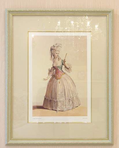 絵画  フランスの貴婦人