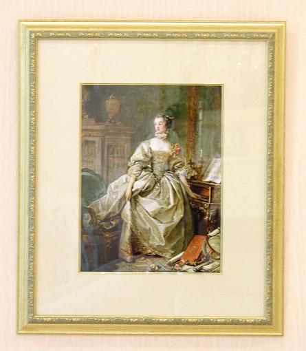 絵画 ポンパドール夫人