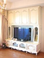 造り付け家具 パターン3 ビバリーヒルズの彫刻