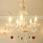 シャンデリア プリンセスティアラ 5灯 ハートのサムネイル
