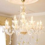 シャンデリア プリンセスティアラ 12灯 イエロードロップのサムネイル