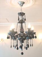 ブラックシャンデリア サマンサティアラ 5灯