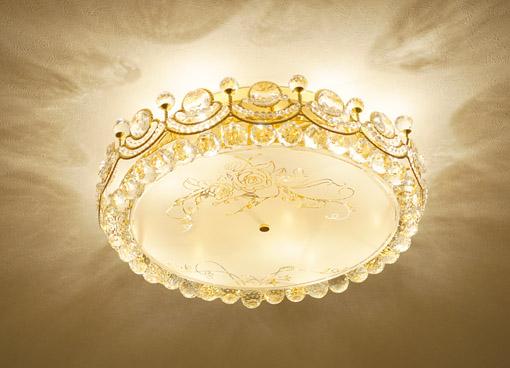 シーリングシャンデリア 薔薇のシャンデリア ミューズ 9灯