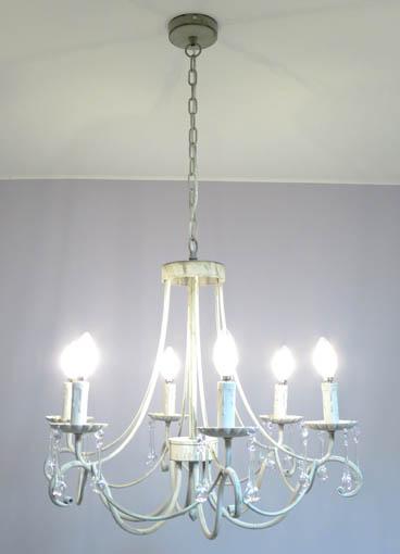 フレンチシック シャンデリア フレール 6灯