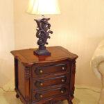 バッキンガム プチテーブル アンティークブラウン色のサムネイル