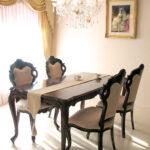 ビバリーヒルズ ダイニングテーブル180 ブラウンのサムネイル