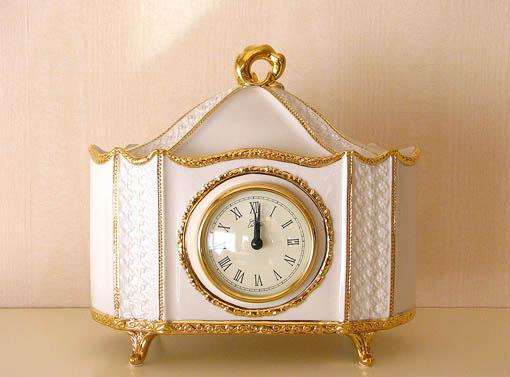 プリンセス雑貨 置時計 ロココスタイル