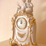 置き時計 ロココスタイル クリスタルエンジェルのサムネイル