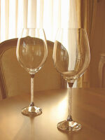 ワイングラス1 クリスタルガラス 2客セット