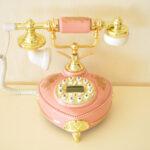 エレガントテレフォン リモージュ ピンクのサムネイル