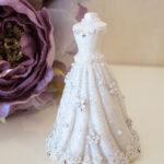 ホワイトドレス カードスタンドのサムネイル