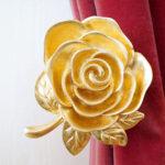 輸入雑貨 カーテンホルダー 薔薇のサムネイル