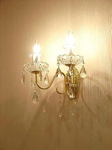 ランプ ウォールランプ 2灯 B級品