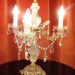 テーブルランプ シャンデリア3灯のサムネイル