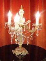 テーブルランプ シャンデリア3灯