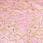 カルトナージュ 生地 金華山織り ピンク 花かご柄のサムネイル