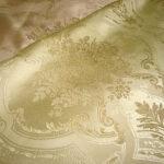 カルトナージュ 生地 ゴールド 花かご柄のサムネイル