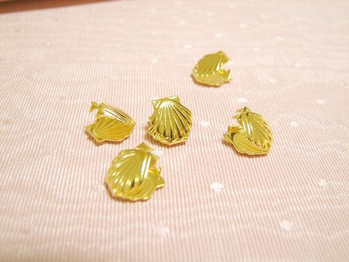 カルトナージュ ロココスタイルの貝 合わせ金具
