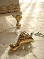 カルトナージュ 金具 エレガントな猫脚 ゴールド