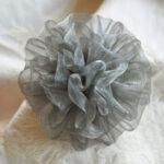 カルトナージュ レースの花 シルバーのサムネイル