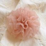 カルトナージュ レースの花 ピンクのサムネイル