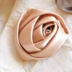 カルトナージュ 薔薇の花 ピンクのサムネイル