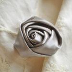 カルトナージュ 薔薇の花 シルバーのサムネイル