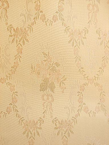 壁紙 織り物クロス リボンとブーケ