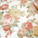 カルトナージュ 生地 薔薇柄のサムネイル