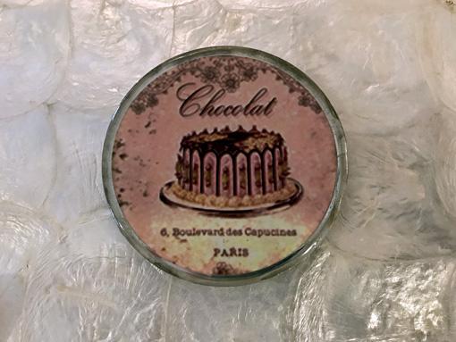 コースター チョコレート 丸型 A