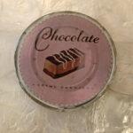 コースター チョコレート 丸型 Bのサムネイル