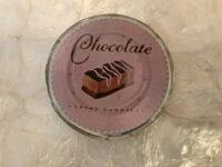 コースター チョコレート 丸型 B
